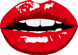 thick lips graphic